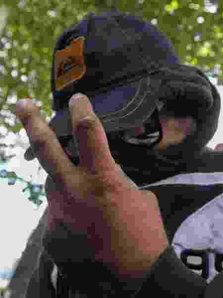 31.mai.2019 - Rodrigo Jorge Ferreira, vulgo Ferreirinha, preso por envolvimento com milícia e suspeito de obstruir investigação do caso Marielle - ARMANDO PAIVA/AGÊNCIA O DIA/ESTADÃO CONTEÚDO