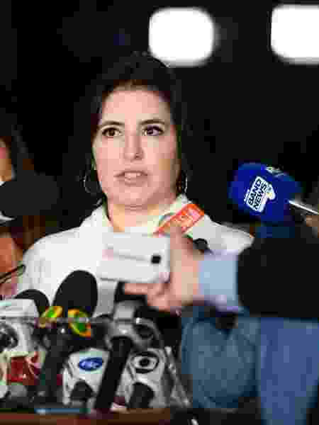 Simone Tebet (MDB-MS) é presidente da CCJ do Senado - Marcos Oliveira/Agência Senado