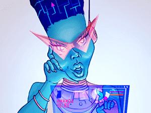 A robô trans, Amanda Selfie - Divulgação