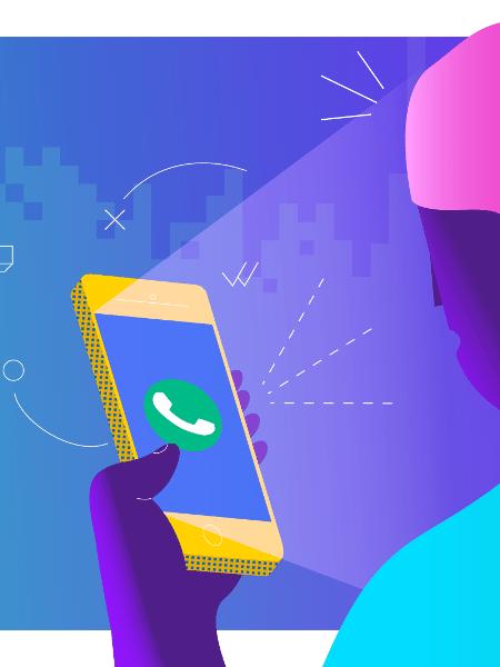 WhatsApp está processando empresa por suposto ataque a seus usuários - Estúdio Rebimboca/UOL