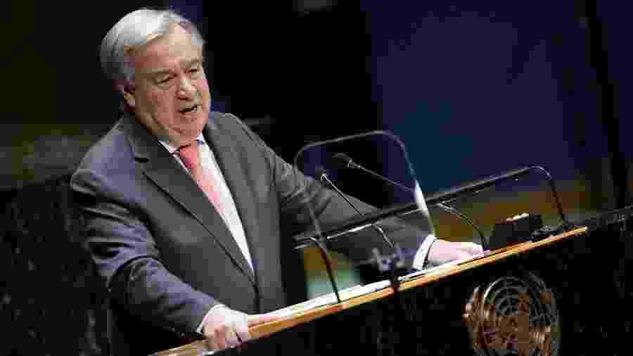 24.set.2019 - O secretário-geral da ONU, António Guterres - Carlo Allegri/Reuters