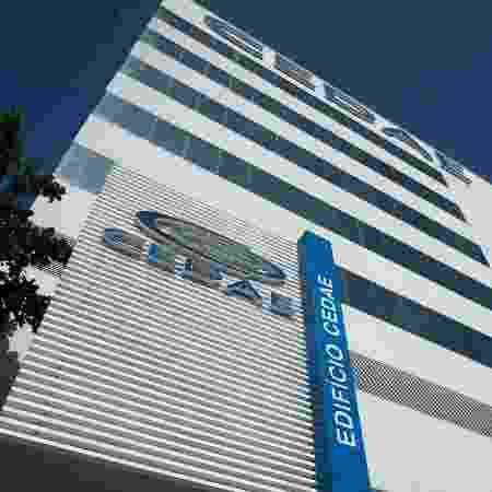 15.jan.2020 - Vista do prédio da Cedae, no Rio de Janeiro - Mauro Pimentel/AFP