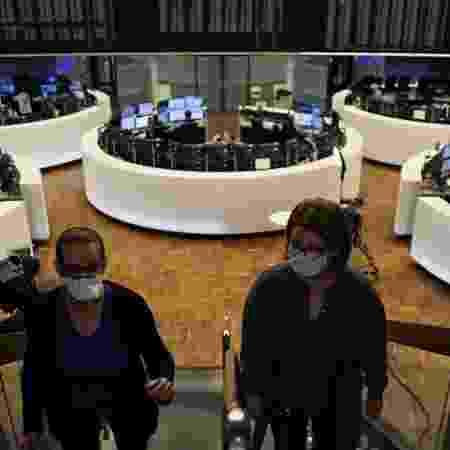 Bolsa de valores de Frankfurt, Alemanha - KAI PFAFFENBACH