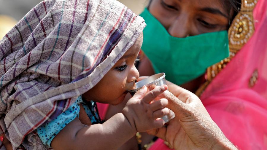Índia realizou testes de covid-19 em cerca de 29 mil pessoas entre junho e julho  - AMIT DAVE/REUTERS