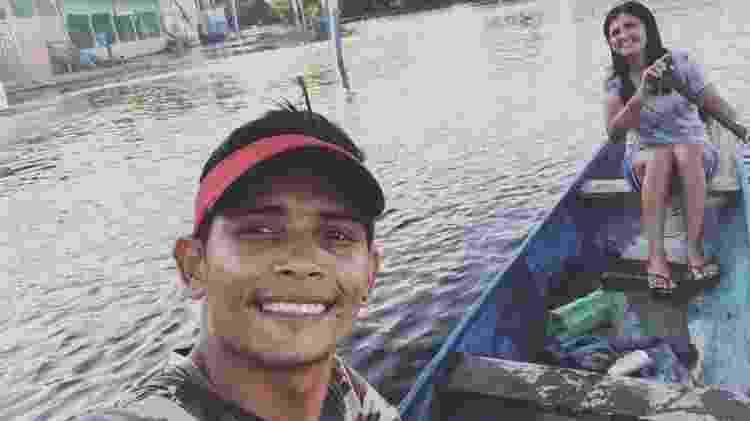 Joelmir Silva e Silva se mudou para a cidade para cursar a universidade, mas voltou para sua comunidade natal no rio Iriri até a pandemia perder força - Arquivo pessoal/Joelmir Silva - Arquivo pessoal/Joelmir Silva