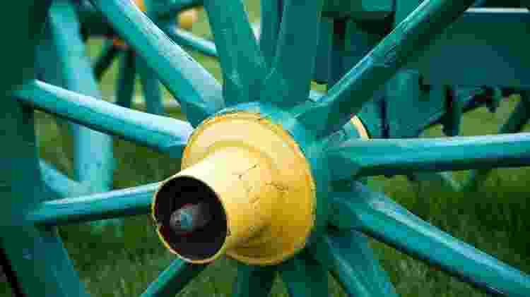 A roda e o eixo foram duas invenções cruciais - Getty Images - Getty Images