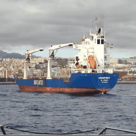Espanha apreende 1,2 tonelada de cocaína em navio após denúncia do Brasil - Polícia Nacional da Espanha/Divulgação