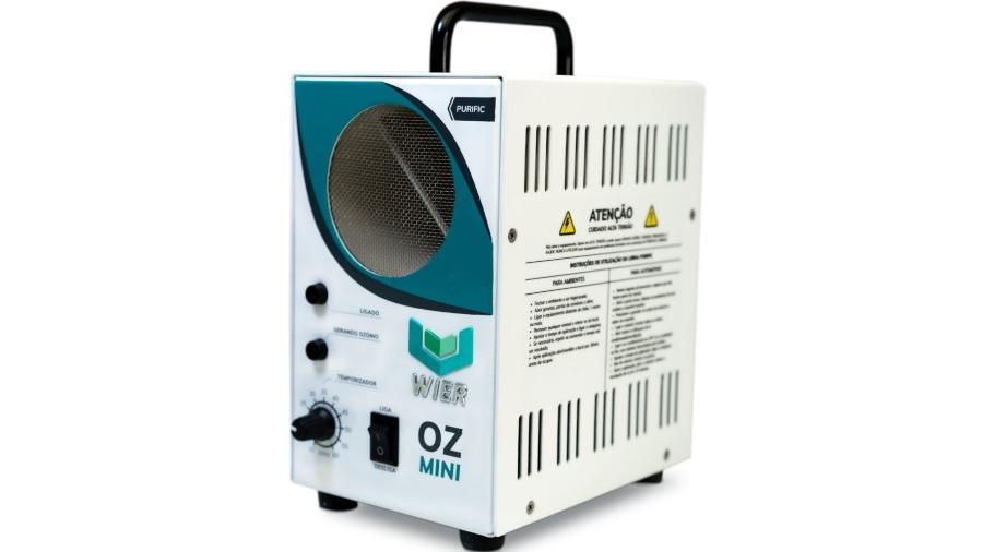 Gerador de ozônio OZmini, da empresa brasileira Wier - Divulgação