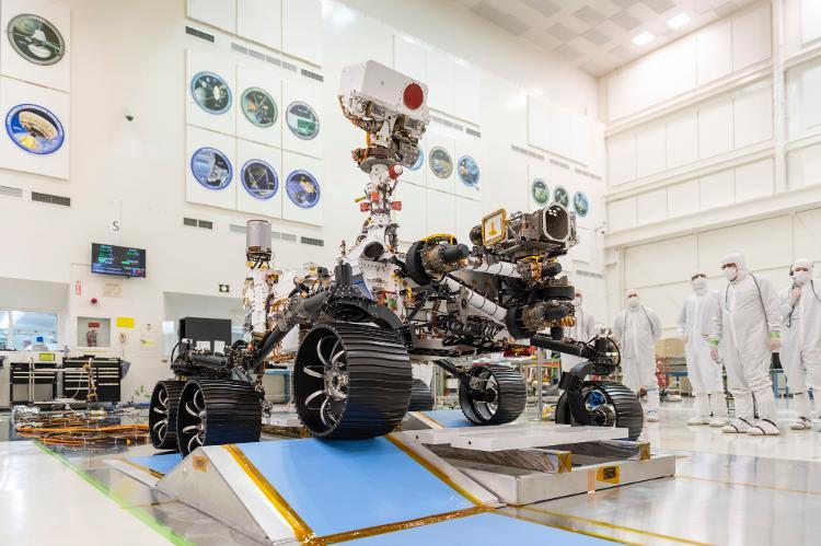 La perseverancia es un montón de alta tecnología: siete instrumentos, varias cámaras, micrófonos y un gran ejercicio - Nasa / JPL-Caltech - Nasa / JPL-Caltech