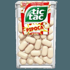Embalagem do Tic Tac sabor pipoca - Divulgação