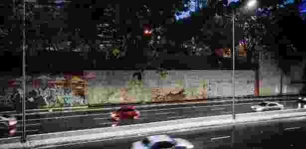 grafite - Bruno Santos/Folhapress - Bruno Santos/Folhapress