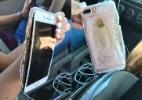 iPhone 7 Plus pega fogo em vídeo gravado por usuária nos EUA; veja - Reprodução/Twitter @briannaolivas_