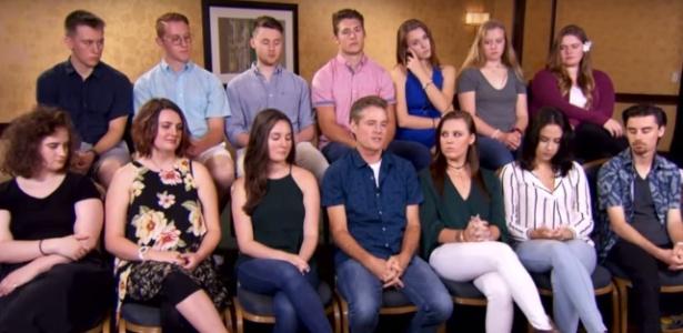 Michael Rubino foi convidado pelo programa Inside Edition para conhecer os seus 19 filhos