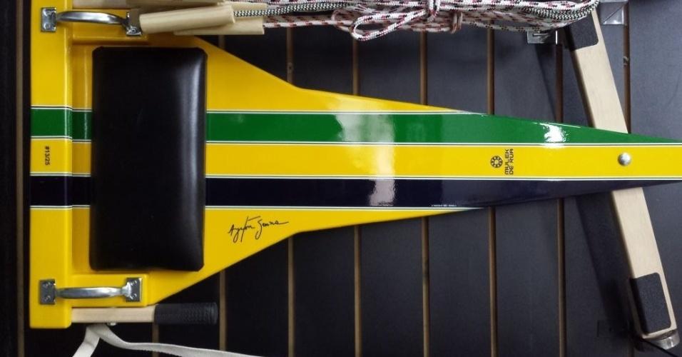 Mulek de Rua carrinho de rolimã Ayrton Senna Oficial
