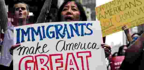 daca nova york protesto - Jewel Samad/ AFP - Jewel Samad/ AFP