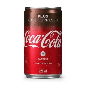 Coca-Cola Plus Café Espresso  - Divulgação