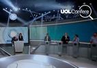 UOL Confere: Em debate na Record, presidenciáveis falam de satélite e CPMF (Foto: Arte UOL/Marcelo Chello/Folhapress)