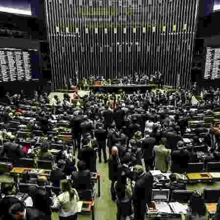 Plenário da Câmara antes de uma das votações sobre o texto da reforma da Previdência - Gabriela Biló/Estadão Conteúdo