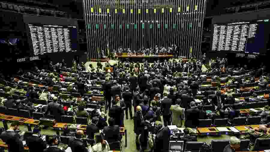 Plenário da Câmara dos Deputados, em Brasília - Gabriela Biló/Estadão Conteúdo