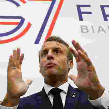 Emmanuel Macron, presidente da França - Ludovic Marin/Reuters