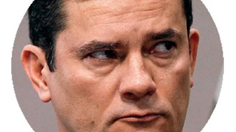 O ministro Sérgio Moro: confortável demais, segundo os Zeros  - Cristiano Mariz/Veja