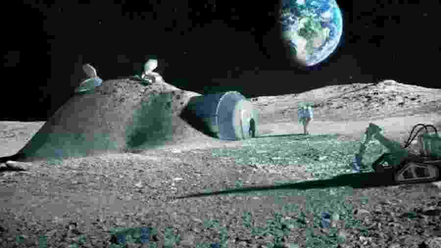 Projeto Artemis tentará habitar a Lua - Divulgação