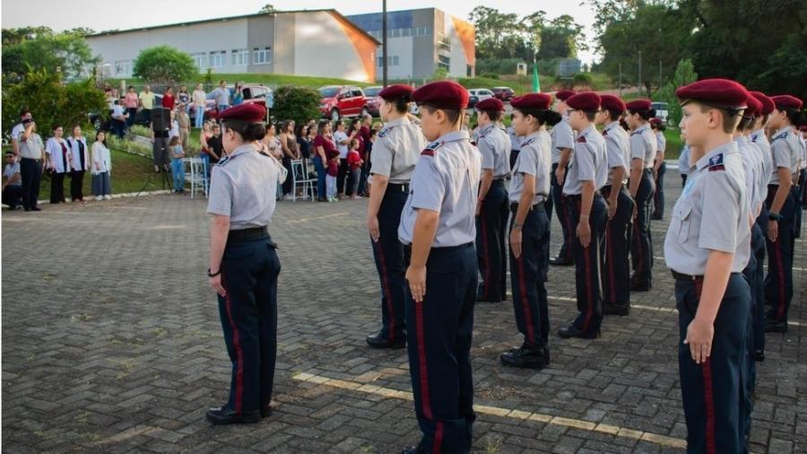 Lançado em 2018, Colégio Vila Militar, em Curitiba, já conta com mais de 650 estudantes do ensino fundamental ao médio - Divulgação/Colégio Vila Militar