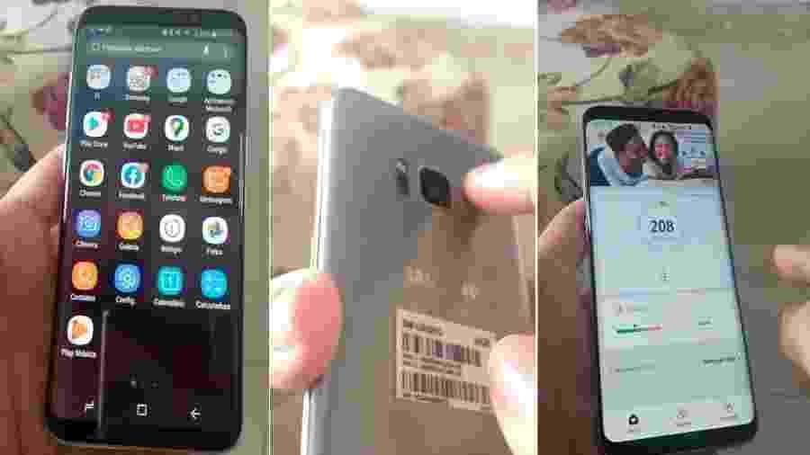 Vídeo que circula no WhatsApp mostra cálculo de saturação de oxigênio em celulares Samsung - Reprodução