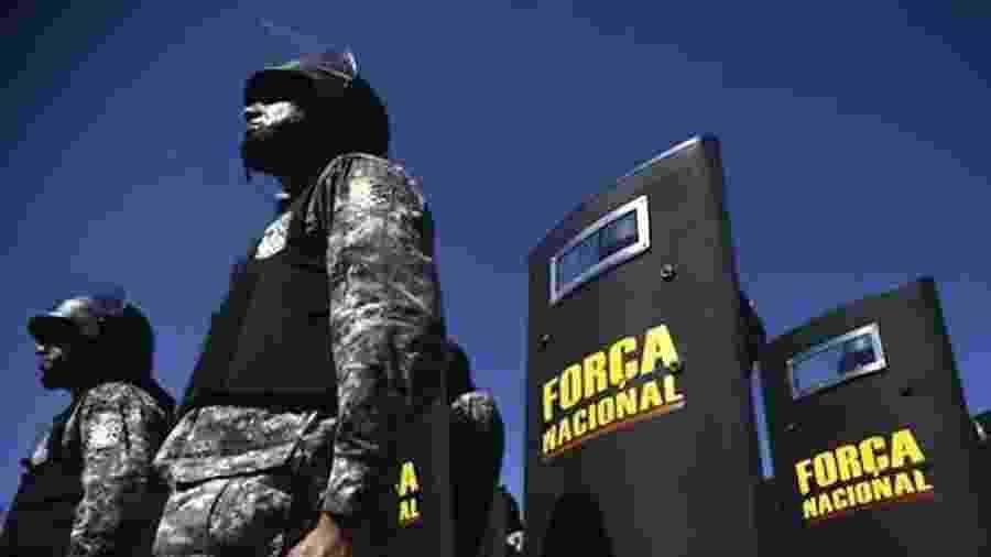 Força Nacional atua na guarda e vigilância do local - Divulgação