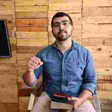 Samuel, 23, é um dos jovens candidatos da periferia que são evangélicos e progressitas - Arquivo Pessoal - Arquivo Pessoal