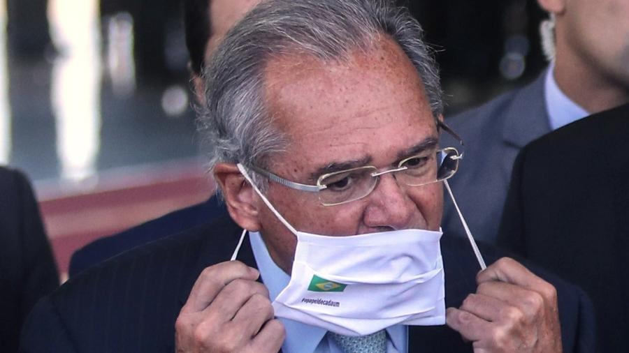 """Mais cedo, Bolsonaro desautorizou Guedes e """"proibiu"""" discutir Renda Brasil no seu governo - Gabriela Biló/Estadão Conteúdo"""