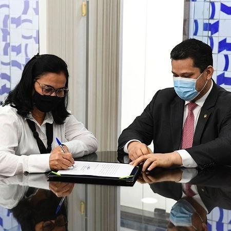 Com a saída do senador Diego Tavares, do PP da Paraíba, Nailde Panta assumiu a vaga de senadora pelo estado - Roque de Sá / Agência Senado