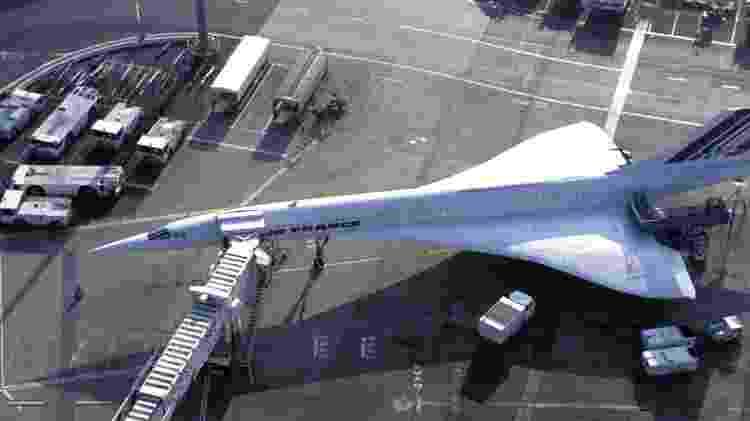 Concorde último - Divulgação/Air France - Divulgação/Air France