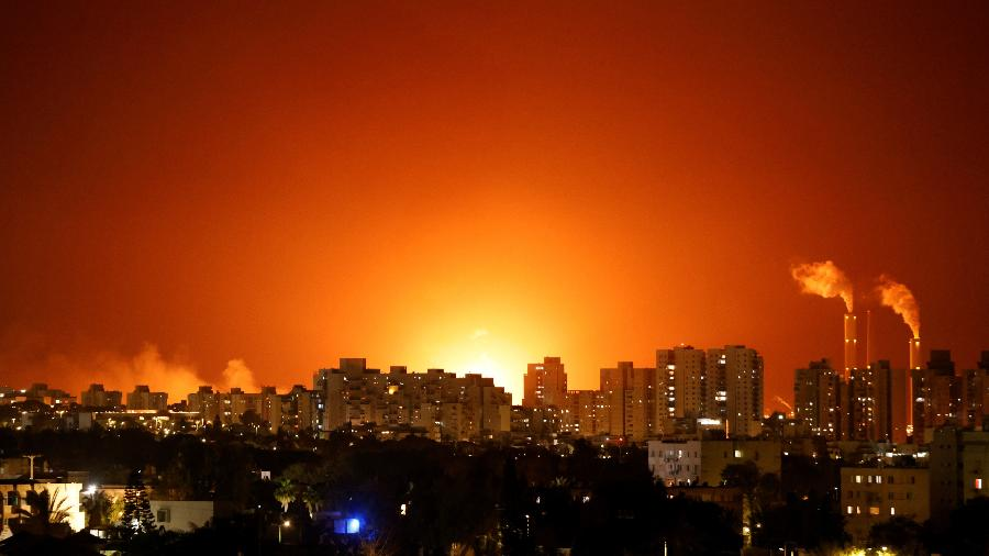 11/05-Conflito entre Israel e palestinos perto de Ashkelon, Israel - Amir Cohen/Reuters