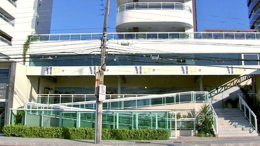 Fachada da empresa de turismo MVC, em Fortaleza (CE) - Reprodução/TV Globo
