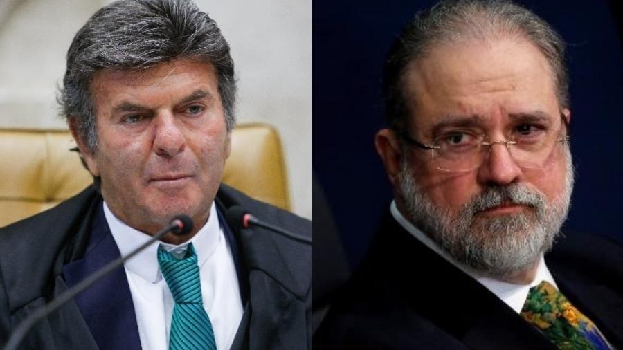 Decisão de Fux acontece horas após anunciar o cancelamento de reunião entre chefes dos Poderes - Felipe Sampaio/STF e Adriano Machado/Reuters