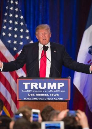 Donald Trump perde em Iowa