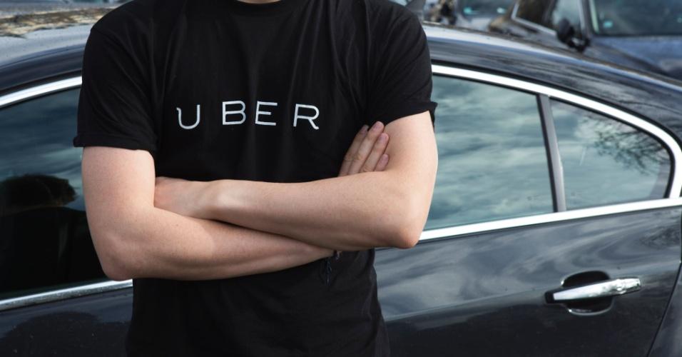 9.fev.2015 - Em decisão inédita, o Uber interrompeu temporariamente os serviços em Paris, na França, em protesto às mudanças de uma lei que podem prejudicar motoristas que usam apps de carona. A indisponibilidade durou cerca de quatro horas