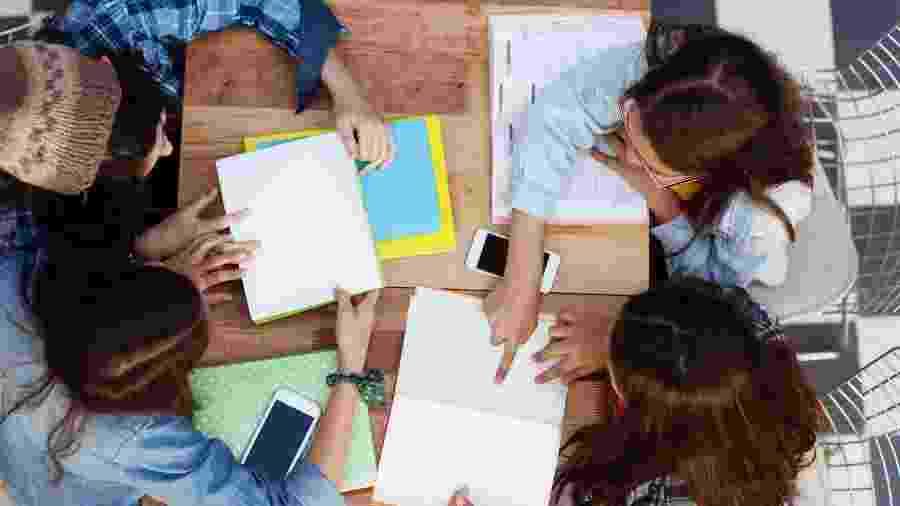 Estudar, ler, revisão, escola, trabalho - iStock