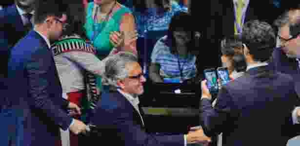 Caiado de cadeira de rodas - Marcos Oliveira/Agência Senado - Marcos Oliveira/Agência Senado