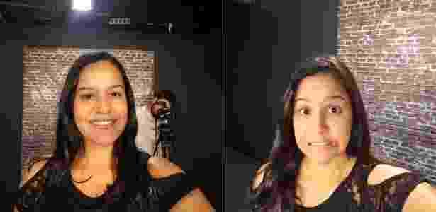 Selfies com iluminação diferente - UOL