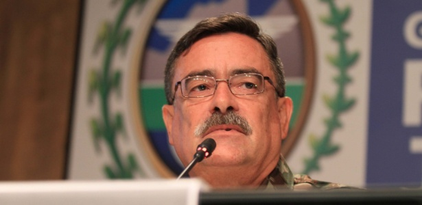 General Mauro Sinott Lopes, que deixa o cargo de chefe do Gabinete de Intervenção Federal