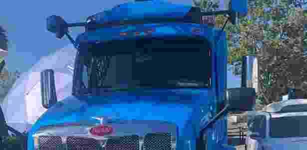 Caminhão autônomo da Waymo, o Peterbilt 579 - Murilo Garavello/UOL - Murilo Garavello/UOL