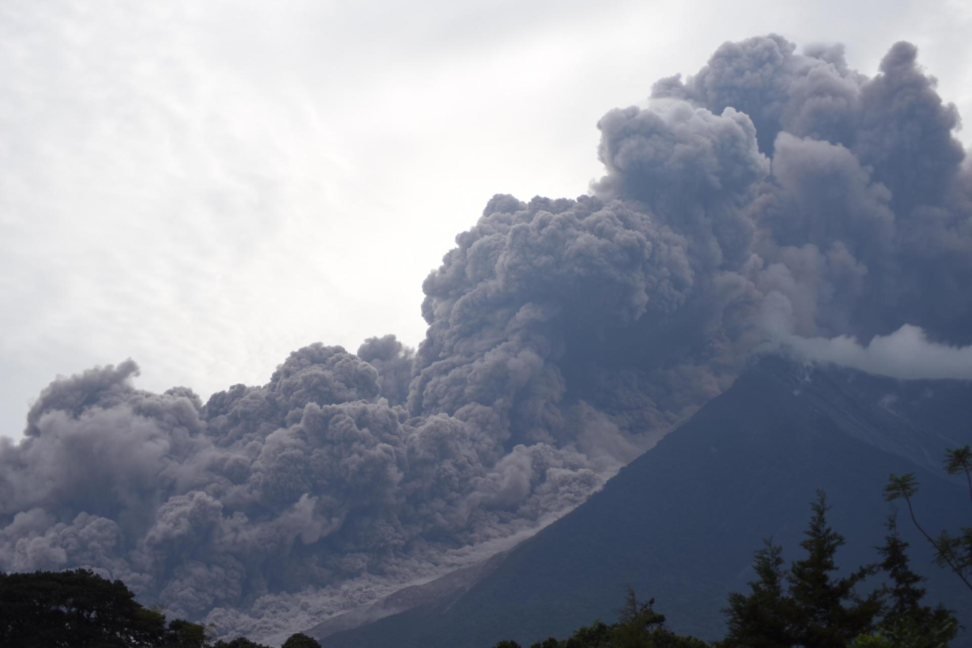 Vulcão Guatemala