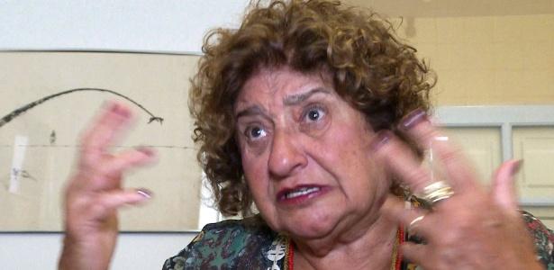 Cecília Coimbra, fundadora da associação Tortura Nunca Mais