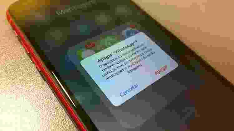 Apagar o WhatsApp do celular é algo que nem passa pela cabeça de muitos brasileiros - UOL