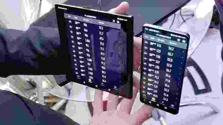 Teste compara velocidades de download e upload entre celulares conectados a rede 5G e 4G - Rodrigo Trindade/UOL