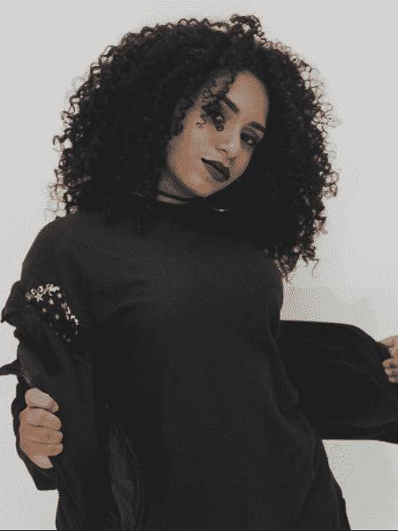 """A modelo Bárbara Querino, Babiy, foi presa após ser reconhecida """"pelo cabelo"""" - Reprodução Instagram"""
