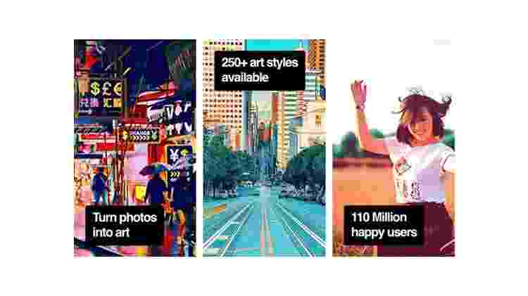 Prisma: stories no Instagram - Reprodução - Reprodução
