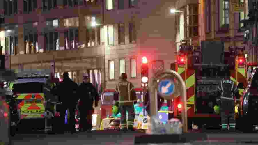 Ataque a faca na Ponte de Londres, no centro da capital britânica, deixou dois mortos - Isabel Infantes/Xinhua